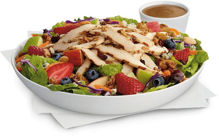 Grilled market salad fast food salads fast healthy