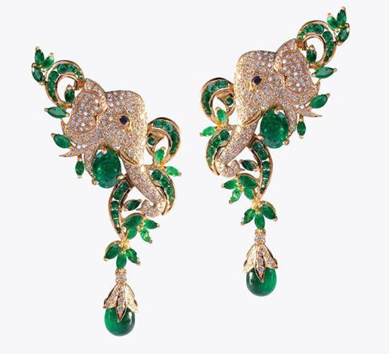 Emeralds for Elephants Jewellery – The Indian Edition | WeddingSutra Editors Blog – WeddingSutra.com