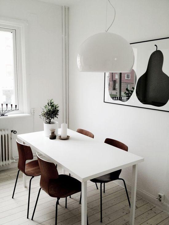 25 best ideas about scandinavian dining rooms on pinterest interior home decoration - Scandinavian kitchen table ...