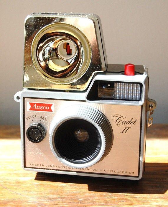 Ansco Cadet II #vintage #camera