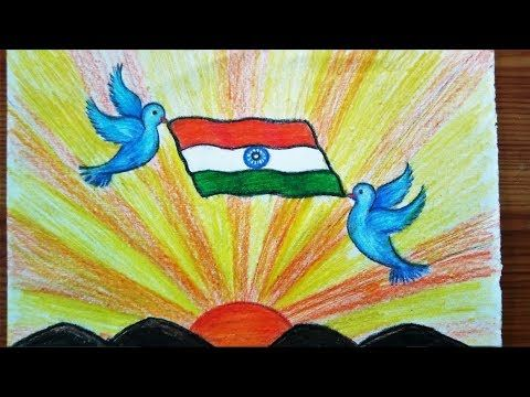 Tricolour Pop Up Greeting Card |Indian Independence Day Special