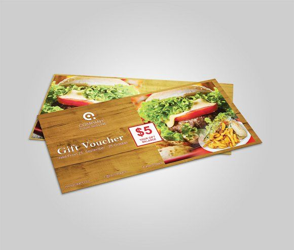 Food gift voucher - Cards