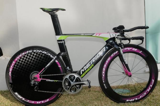 The New Merida Warp Tt Machine