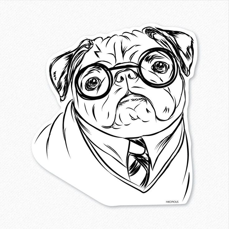 15++ Christmas pug coloring pages info