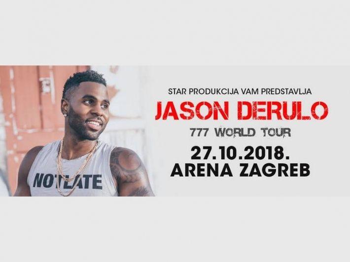 Turisticki Portal Planiraj Com Jason Derulo Arena Zagreb Jason Derulo Jason Zagreb