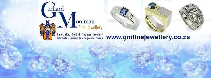 Visit Gerhard Moolman Fine Jewellery: • Designing of new jewellery • Re-designing of old jewellery • Hand manufacturing • Platinum/18ct/14ct/9ct/Silver • All repairs on jewellery and watches • Laser engraving and welding on most metals • Insurance Valuations • Diamonds and Precious stones • Bring in your old gold • Citizen watches  www.gmfinejewellery.co.za  For any queries please contact: gerhard@gmfinejewellery.co.za  Shop 0/1 B | High Street Shopping Village | Durban Rd | Tyger Valley