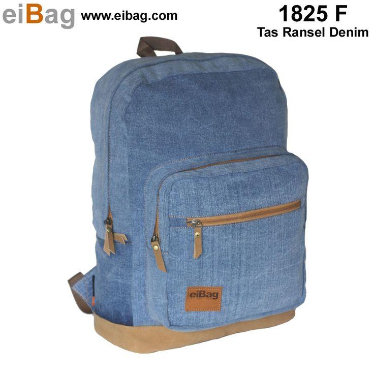 Tas denim Bandung harga murah aneka model dan fungsi merk EIBAG tersedia tas kamera denim, tas laptop denim, tas sekolah denim, kontak kami : BB : 3343A888