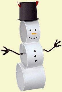 Χριστουγεννιάτικες Κατασκευές: ΧΙΟΝΑΝΘΡΩΠΟΙ | ΣΟΥΛΟΥΠΩΣΕ ΤΟ