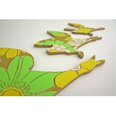Cool new take on the old flying ducks that Nana used to have on her wall.