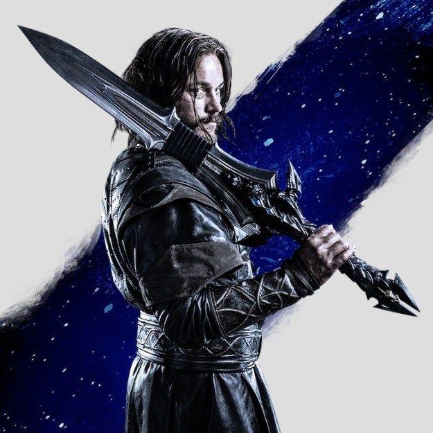 Warcraft, the movie. I need more of it!! http://www.depepi.com/2016/06/21/warcraft-movie-oh-lothar/ #geek #warcraft #lothar #garona