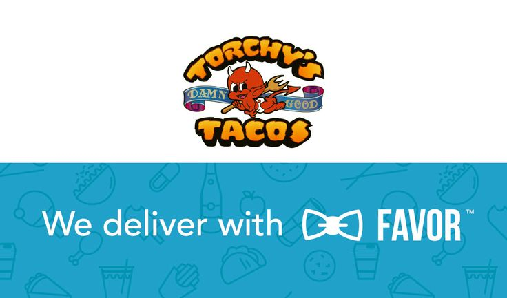 Torchy's and Favor are working together to bring you more taco for less work. Taco Delivery Now Available in Austin, Dallas, and Houston with Favor