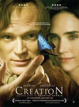 Creation   Interesting look at the origins of Darwin's life and theory of evolution.