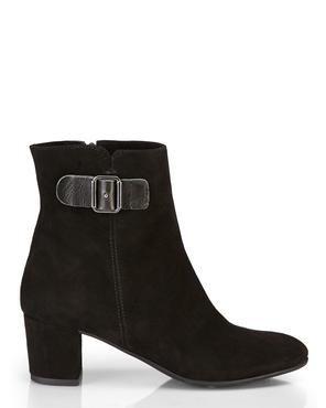 ITALIAN DESIGNER BOOTS Black Suede Boots