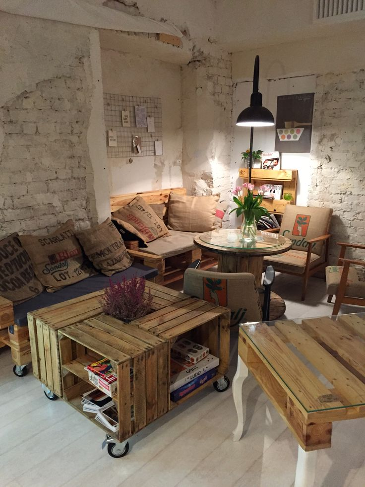 Pallet Furniture Interior Design ~ Best paletowe realizacje pallet design images on