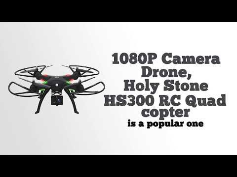 Holy Stone RC Quadcopter Camera Drone Video