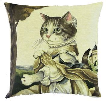 10 best images about susan herbert tapestry cat cushions on pinterest - Sofa herbergt s werelds ...