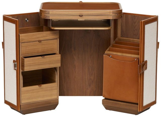 If I own one piece of nice furniture, this would be it. Coffre a Lutrin Portable Desk.