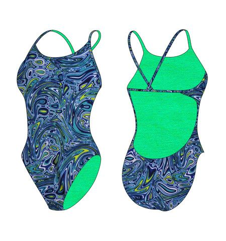 Our best seller-low back suit! Excellent choice for competition or practice, designed with flat lock stitching and a streamlined fit for reduced drag and efficient performance in the water. These thin