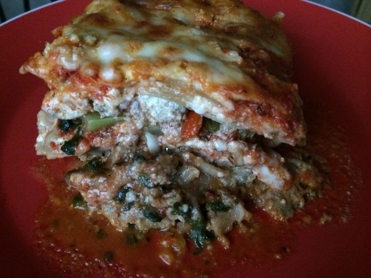 Turkey & Veggie lasagna for the win! | Bergen Lifestyle | Pinterest ...