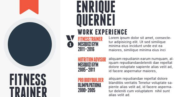 03-Fitness-Trainer-Resume-upload Salud y ejercicio Pinterest - fitness trainer resume