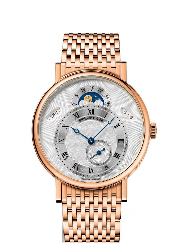 Breguet 7337BR/1E/RV0 Classique - швейцарские женские часы наручные, золотые, белые
