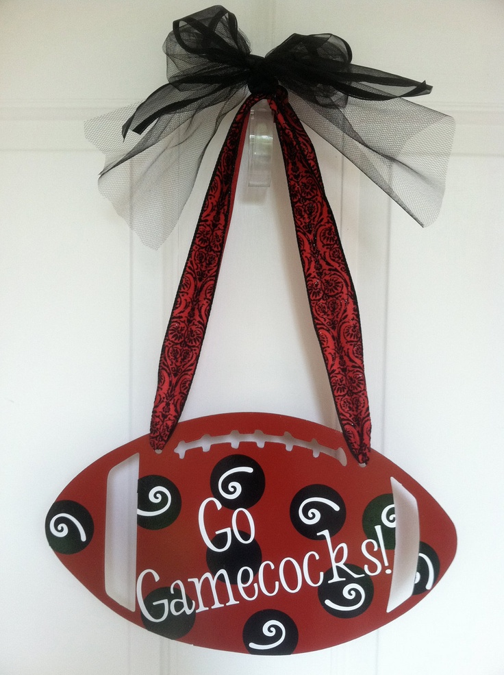 South+Carolina+Gamecocks+Football+Wall+by+mountainridgedesigns,+$36.00