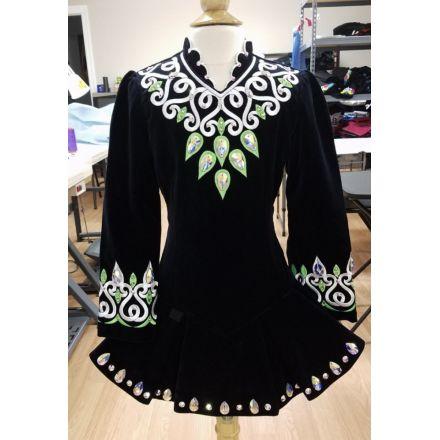 New Black Velvet Dress - Prime Dress Designs Irish Dance Dress