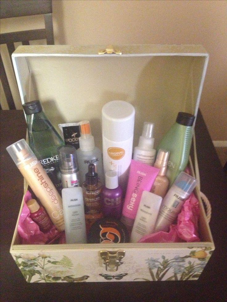70 best gift baskets images on pinterest gift basket - Gloss and raffles ...