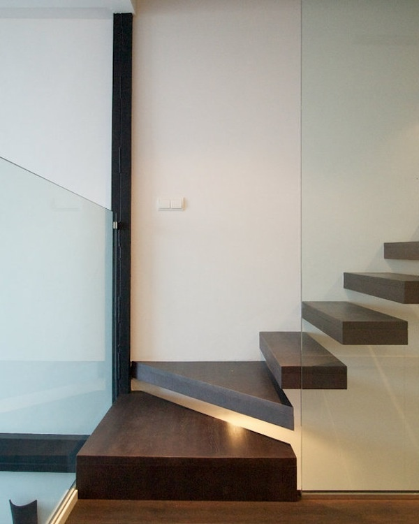 Detalle escalera Vivienda 3M