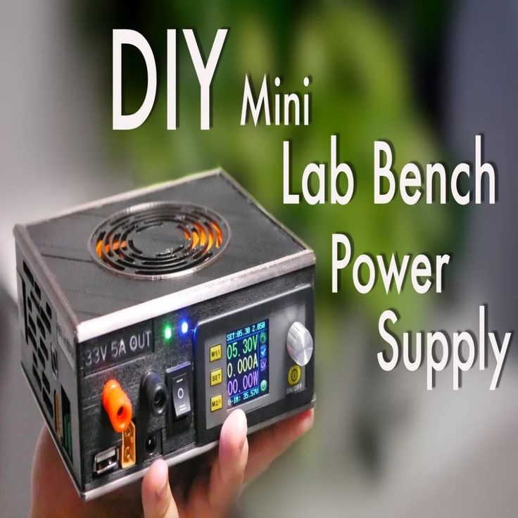 Diy Mini Variable Lab Bench Power Supply By Mrkplayer