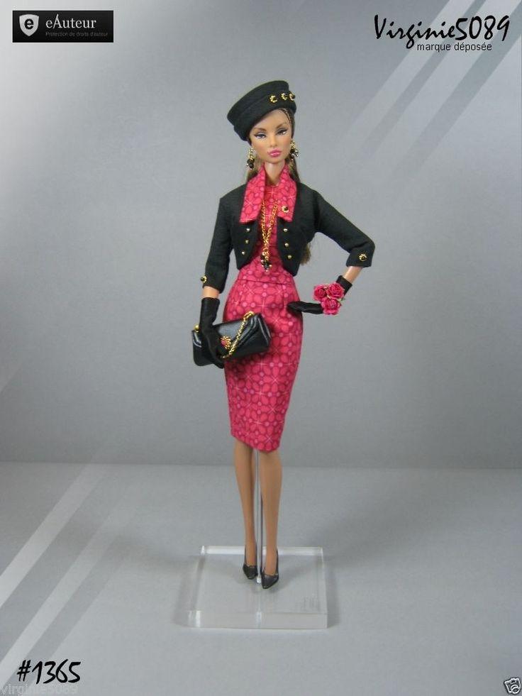 Tenue Outfit Accessoires Pour Fashion Royalty Barbie Silkstone Vintage 1365   eBay                                                                                                                                                                                 Plus