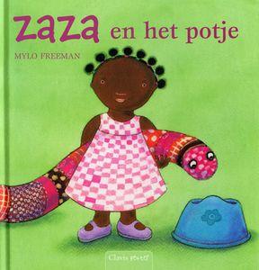 """Digitaal prentenboek  """"Zaza en het potje"""" Dit ben ik, familie, thuis"""