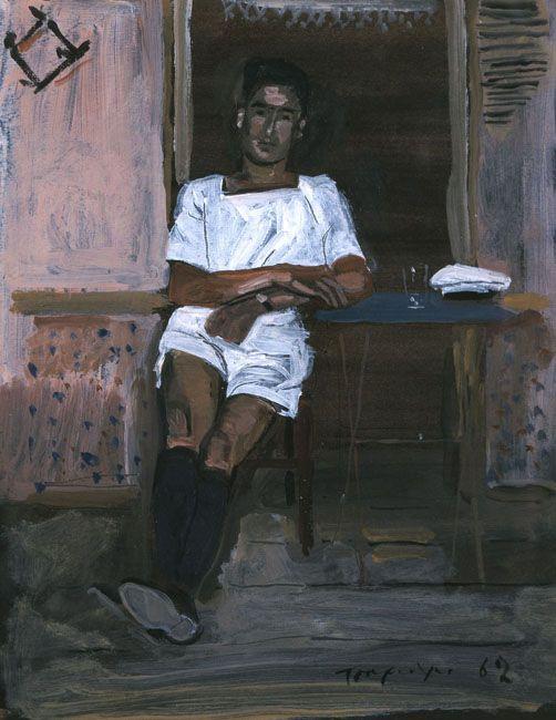 Yannis TSAROUCHIS. Sailor, 1962.