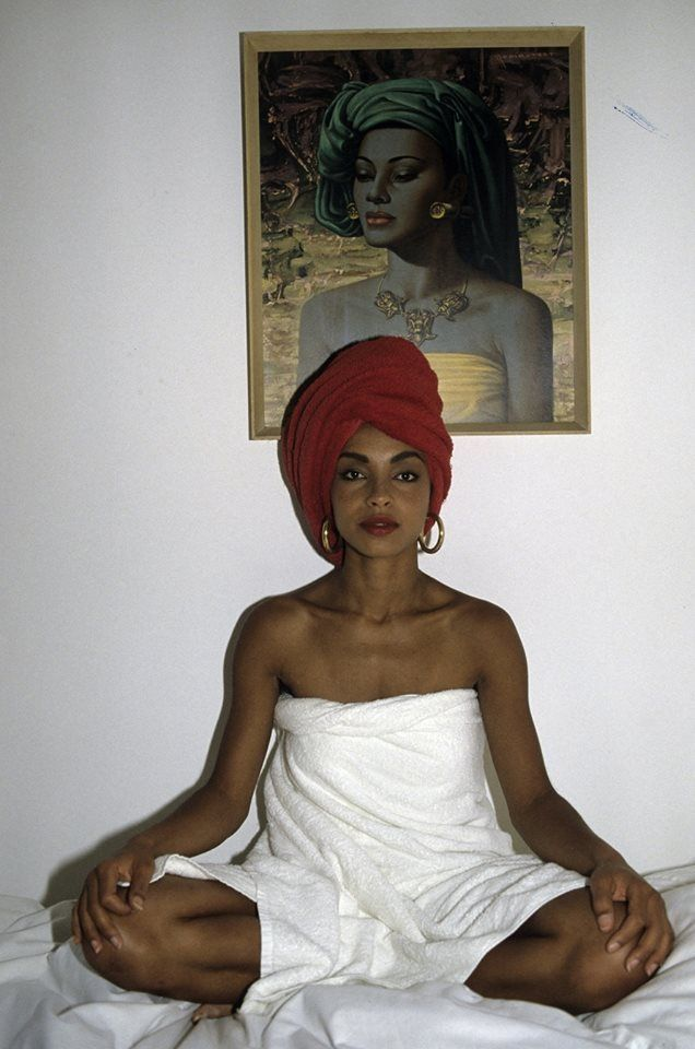 Photo © Jean-Claude Deutsch - Sade Adu, 1985