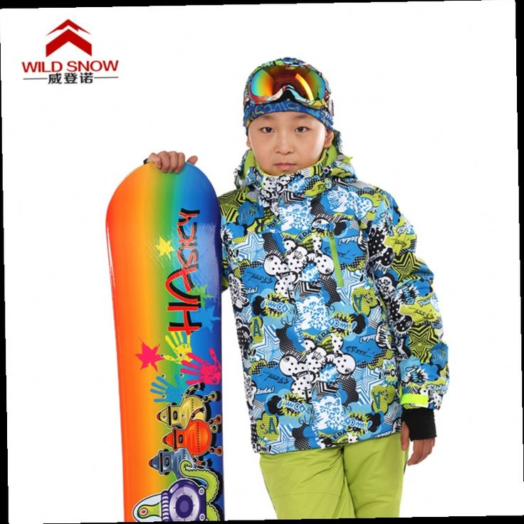 54.00$  Buy now - http://aliyeh.worldwells.pw/go.php?t=32724177906 - Classic children 110-164cm Baby Winter Kids Windproof Warm ski Jackets Minus -30 Degrees Snow jacket for Boys and girls PYJ619 54.00$