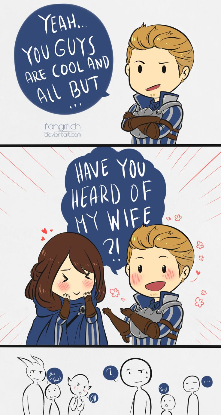 fangmich:  Oh Alistair my love~