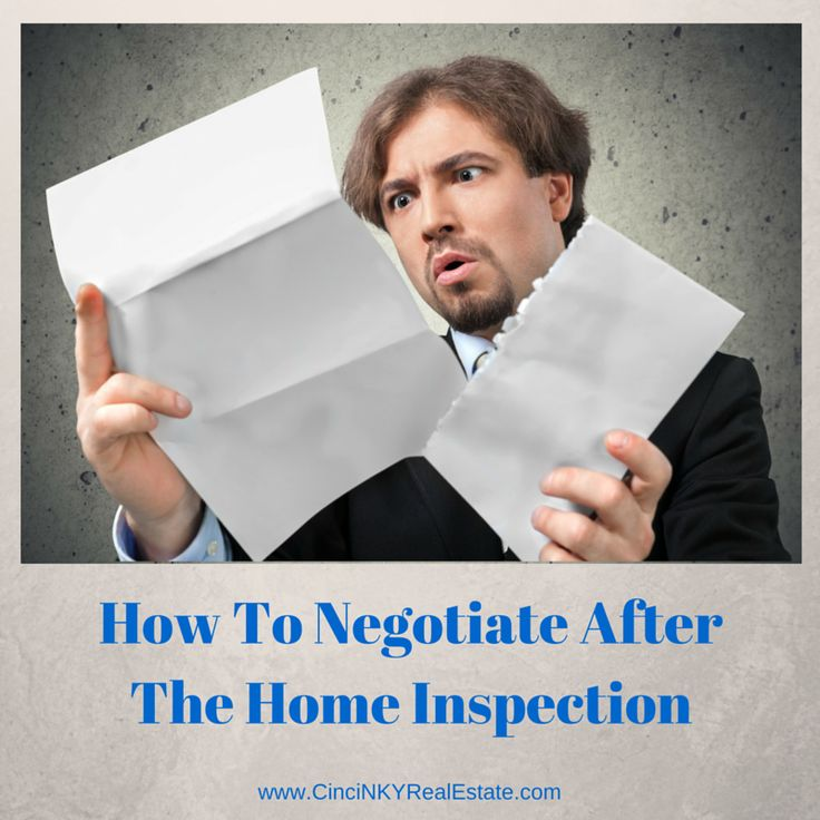 Negotiating After Home Inspection it is time to raise the bar on home inspections | it is, home and