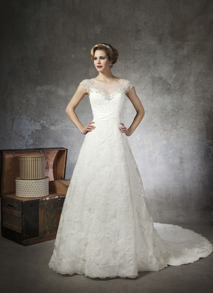 Marvelous Justin Alexander Wedding Dresses Style 8664 Crystals, Bugle Beads, And  Sequins Trim This Tulle