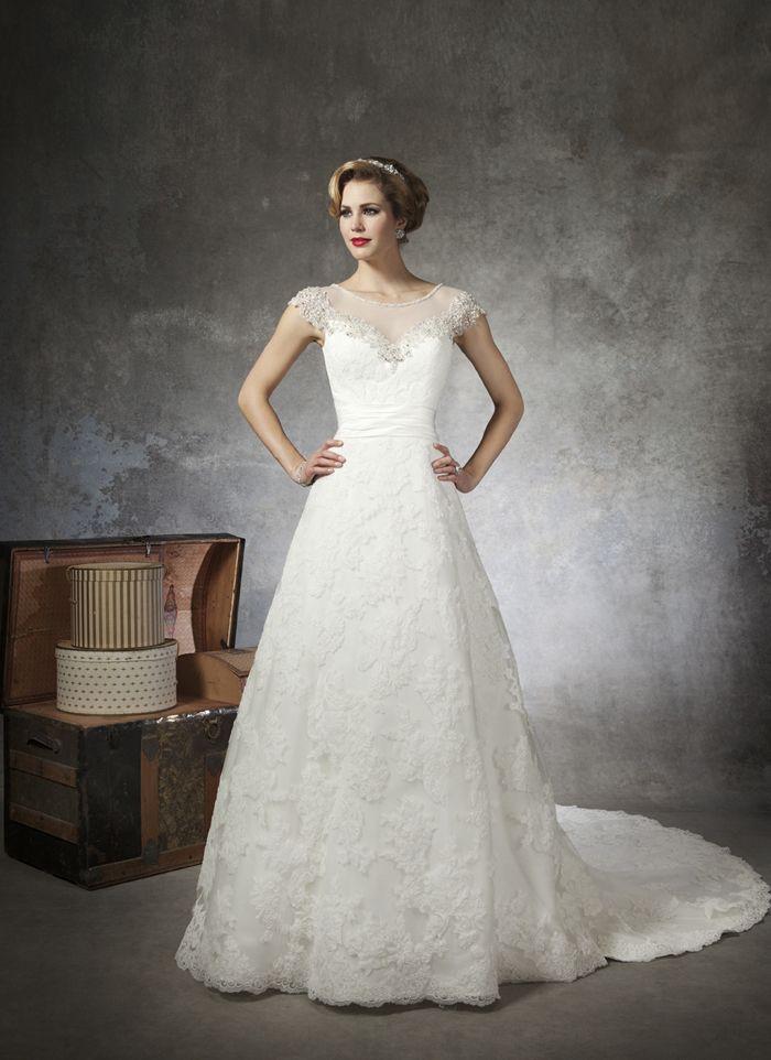 102 best Justin Alexander Wedding Gowns images on Pinterest | Short ...