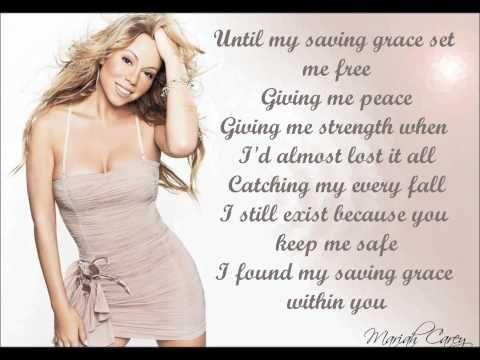 Mariah Carey - My Saving Grace + Lyrics - YouTube