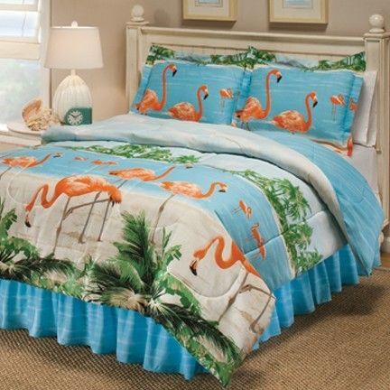 Kids Twin Bedding Flamingos