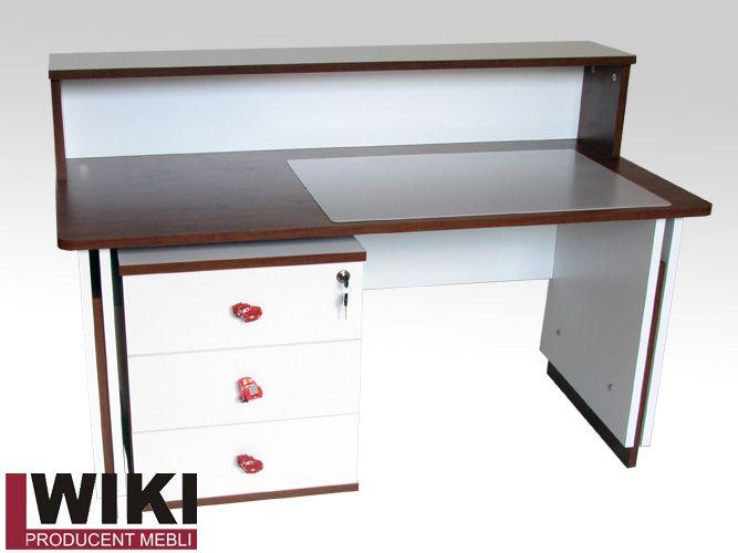 Odrobina fantazji i mamy naprawdę fajne biurko regulowane z kontenerem i nadstawką dla dzieci. Więcej informacji na www.LWiki.com.pl