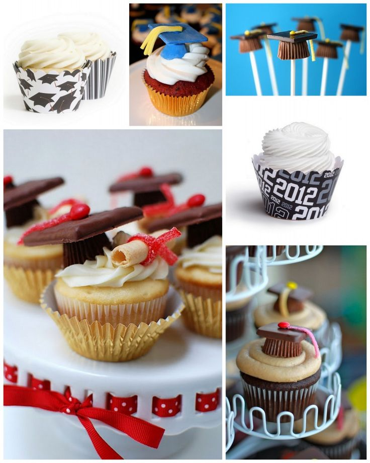 Graduation Cupcakes & Graduation Cupcake Decorating Ideas « Couture Cupcakes by Dress My Cupcake™