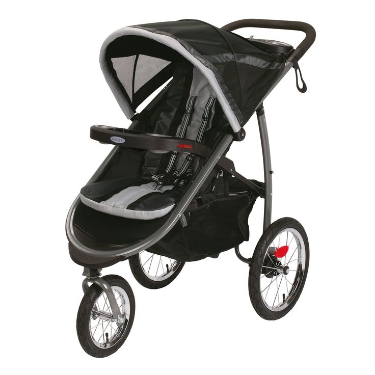 Graco FastAction Fold Gotham Click Connect Jogger Stroller