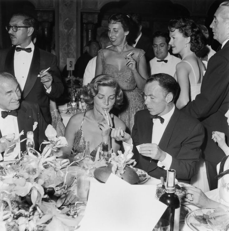 Lauren Bacall  1924   and Frank Sinatra  1915  1998