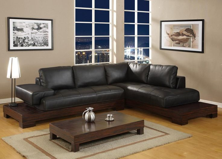 Living Room Design Of Decorating Ideas Black Leather Sofa For Small