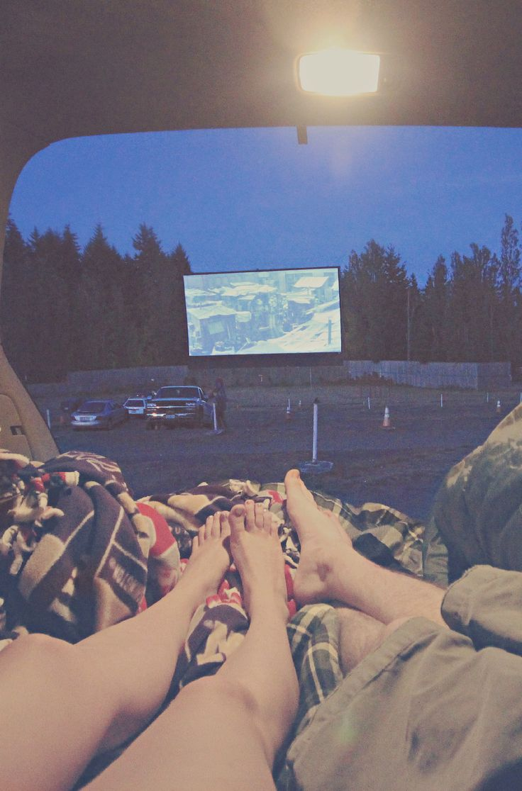 summer time and drive-ins. <3