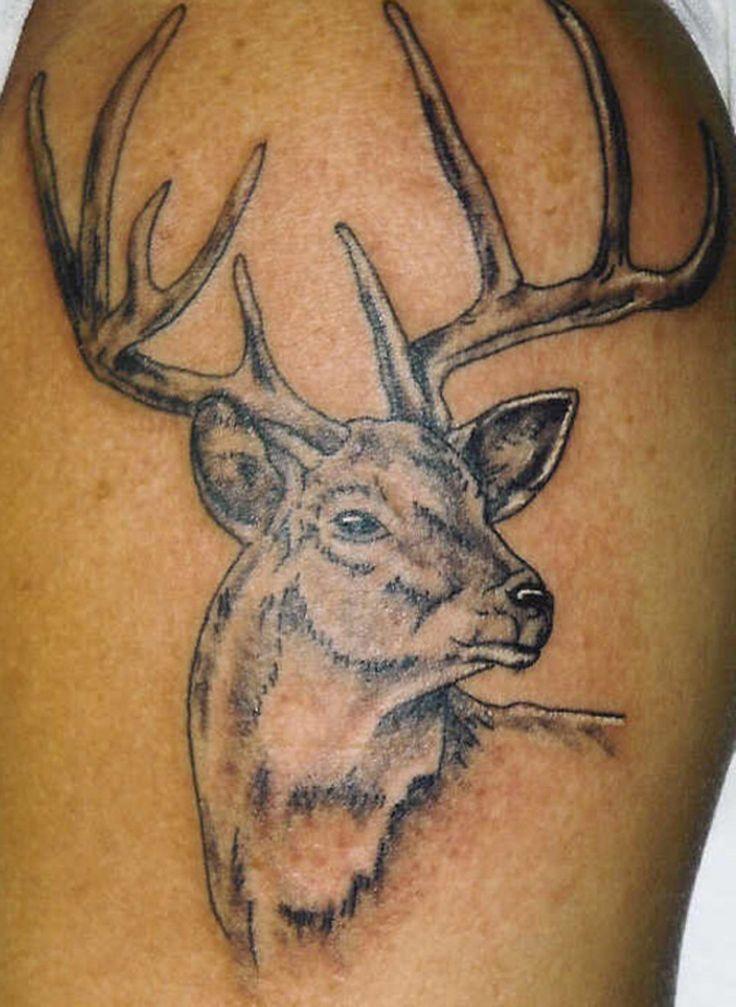 deer tattoo design ideas tattoos pinterest bow hunting tattoos deer tattoo and tattoo. Black Bedroom Furniture Sets. Home Design Ideas