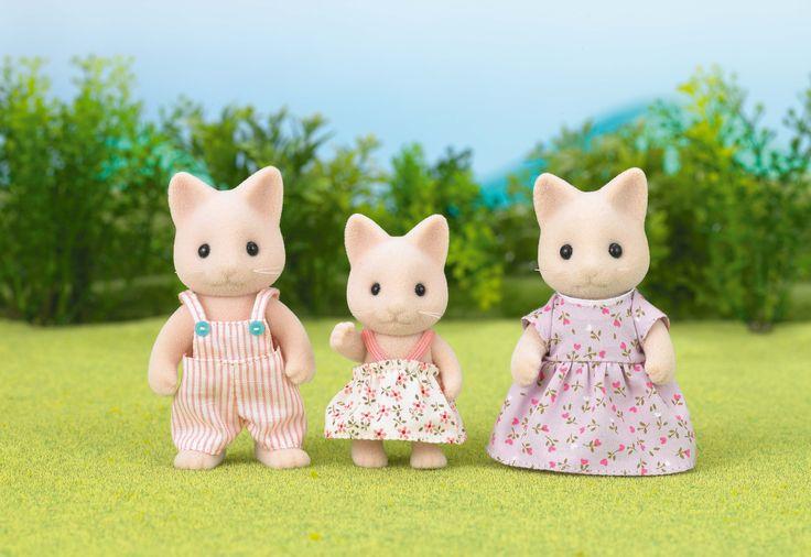 Η κάθε οικογένεια Sylvanian, έχει πολλές ιστορίες να σου διηγηθεί. Sylvanian Families GR ♥ Cat Family ♥