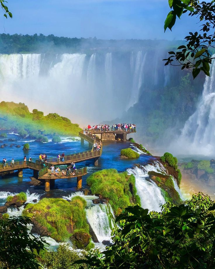 If youre visiting the Iguazu Falls travelers say you cant miss Devils Throat (the border between #Argentina and #Brazil runs right through it). Tour tickets are available on TripAdvisor  check it out!